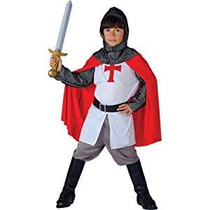 Richard Lionheart Boys Fancy Dress Halloween Costume M by Wicked Costumes