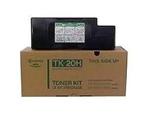 TK-20H Toner-Kit TK-20H Toner-Kit, Microfeiner Keramik-Toner, Reichweite ca. 20.000 Seiten mit 5% Schwärzung bzw. 40.000 Seiten nach ISO 10561 (Dr. Grauert), für FS-1