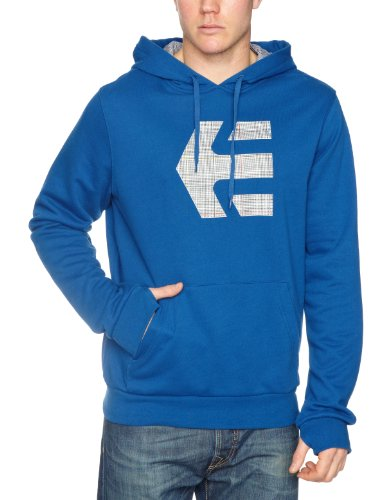 Etnies Icon Fill Pullover Fleece Men's Sweatshirt Royal Small