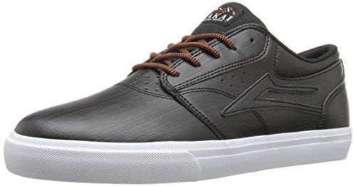 lakai-skateboard-shoes-griffin-wt-black-synthetic-size-8