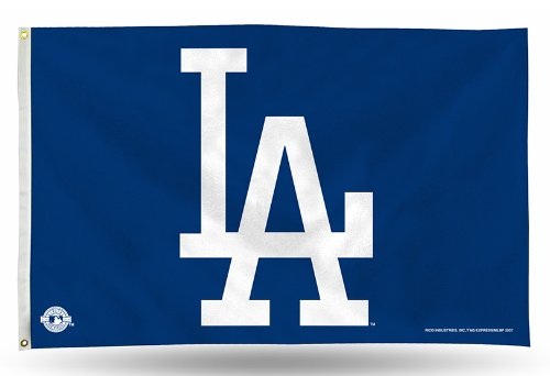 Rico Banner Flag - Los Angeles Dodgers LA Logo