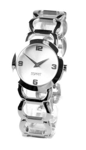 ESPRIT ES000AL2002 - Reloj de pulsera Unisex, Acero inoxidable, color Plata