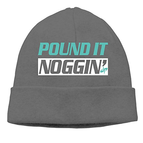 unisex-dude-perfect-pound-it-nogginmint-green-beanies-new-wool-caps-hats-adjustable-deepheather