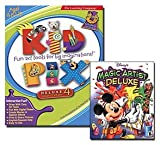 Disney's Magic Artist Deluxe & Kid Pix Deluxe 4 CD