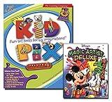 Disney's Magic Artist Deluxe & Kid Pix Deluxe 4 CD