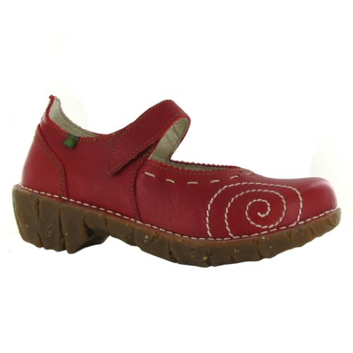 El Naturalista Iggdrasil 095 Cherry Womens Shoes Size 38