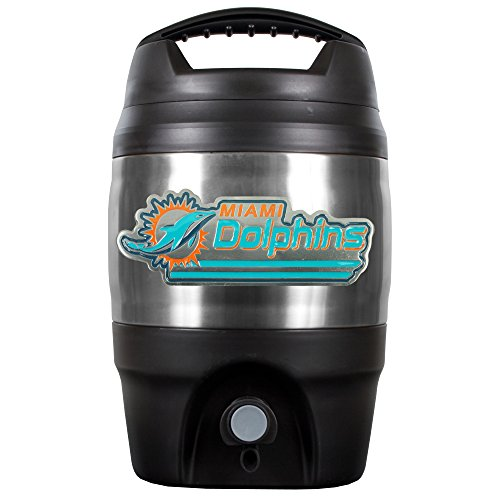 Nfl Miami Dolphins 1 Gallon Tailgate Keg back-590832