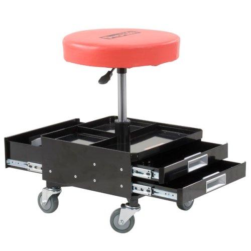 Pro Lift Rolling 3 Drawer Tool Storage Box Pneumatic Stool