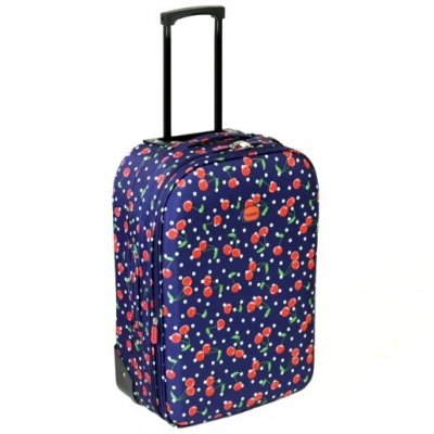 Karabar Cabin Approved Expandable Suitcase (Cherry Navy)