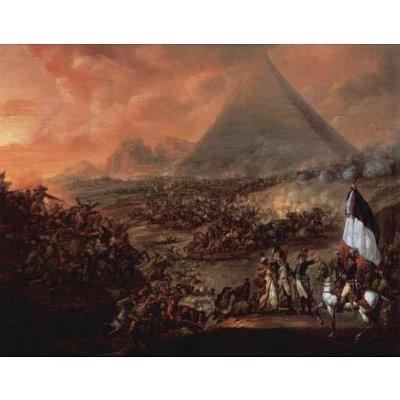 Francois-Louis-Joseph Watteau (The Battle of the Pyramids) Art Poster Print - 11x17