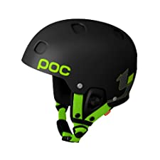 POC Receptor Bug TJ Schiller Edition Helmet (Black, Small, 53-54 cm)