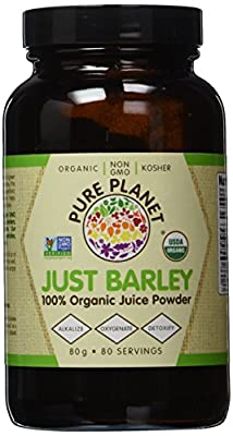 Pure Planet - Just Barley Organic Green Juice Powder - 2.8 oz.