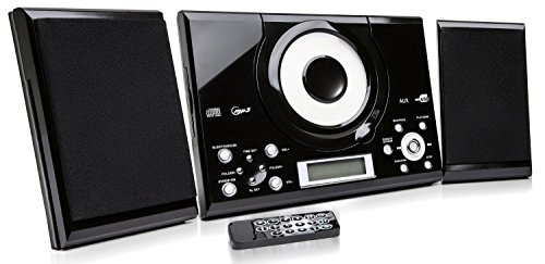 grouptronics-gtmc-101-black-cd-player-stereo-with-fm-radio-clock-alarm-wall-mountable