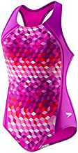 Speedo Little Girls39 Illusion Cubes Sport Splice 1 Piece