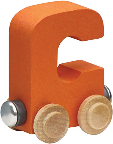 NameTrain Bright Finish Letter Cars - C - 1