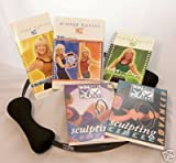 Winsor Pilates 3 DVD 5 Workouts Set + 20 Minute Circle Workout, Accelrated Fat Buring + Sculping Beginner + Circle Advanced w/ Cookbook/ Meal Planner/ Excercise Calendar & Winsor Pilates Circle