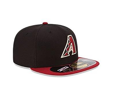 MLB Arizona Diamondbacks Men's Authentic Diamond Era 59FIFTY Fitted Cap, 818, Black