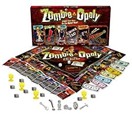 Zombie-Opoly Board Game (New Smaller Package)