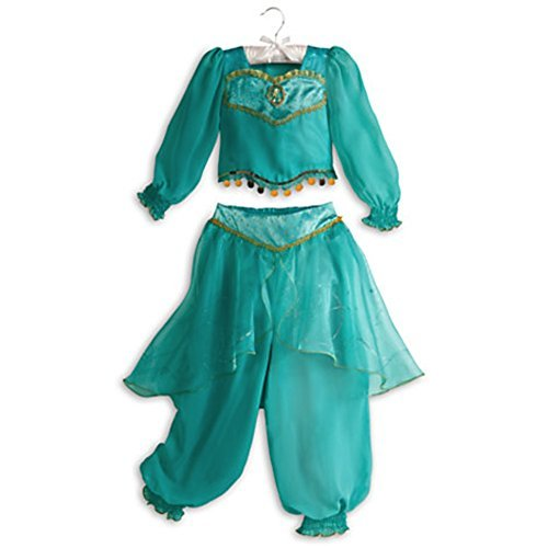 Disney Store Jasmine Aladdin Halloween Costume Size M Medium 7 - 8