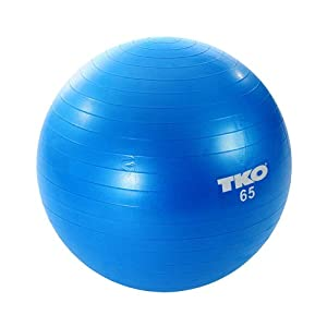 TKO Anti Burst Fitness Stability Ball (65cm)