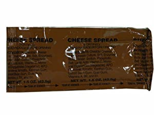 MRE Accessory - Cheddar Cheese Spread by Varies