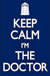 (24x36) Doctor Who - Keep Calm I'm the Doctor TV Poster