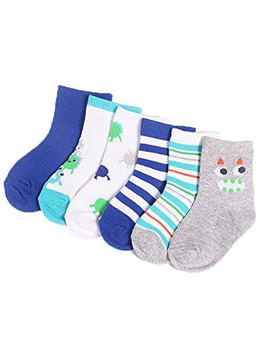 zando-baby-girls-boys-soft-cotton-assorted-seamless-infant-toddler-socks-6-pack-little-monster