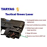 TARYAG Tactical Green Laser Sight for 21mm Weaver Rails