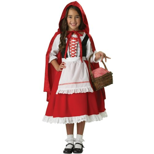 Girl'S Costume: Little Red Riding Hood Size 8