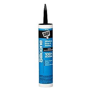 Dap 08642 Dow Corning Black Silicone Sealant 9.8-Ounce