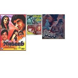 Jugnu + Naseeb + Sahib Biwi Ghulam - DVD Combo