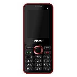 Intex Turbo S1 (Dual Sim) (Black & Red)