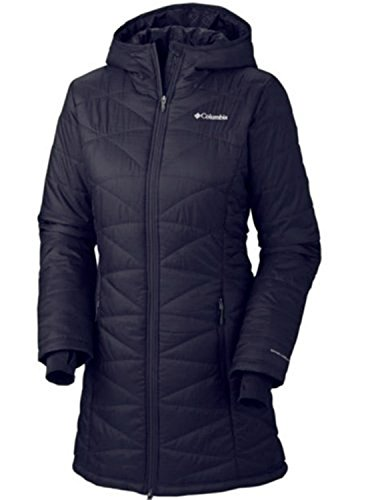 COLUMBIA WOMEN'S MORNING LIGHT OMNI HEAT LONG JACKET COAT PUFFER (M) (Heat Jackets compare prices)