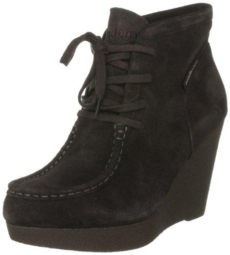 Calvin Klein Jeans, STACY SUEDE, Stivaletti Donna, Dark Brown, 40.5 (7 UK)