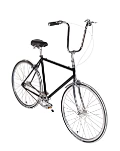 Playdate Bike Club Black Beauty Standard Single Speed Bicycle 56cm/Large Onyx Black