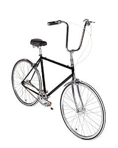Playdate Bike Club Black Beauty Standard Single Speed Bicycle 56cm/Large Onyx Black