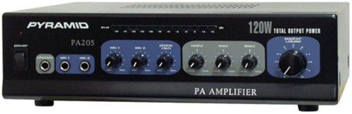 Pyramid Pa205 Amplifier With Microphone Input (120-Watt)