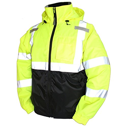 Tingley Rubber J26112 Bomber II Jacket-X-Large, Lime Green