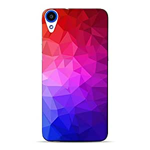 Mobile Back Cover For HTC Desire 820Q (Printed Designer Case)