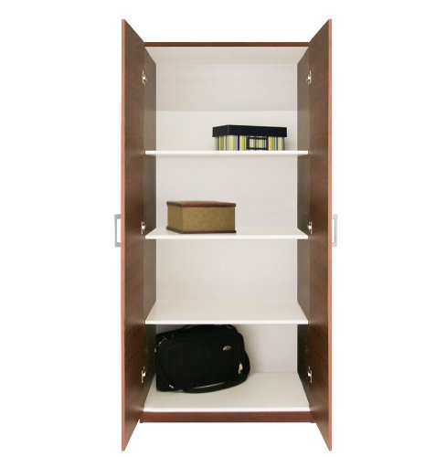 Furniture bedroom furniture armoire double door armoire for 1 door wardrobe with shelves