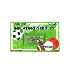 Sports Ball Inflating Needles - Case of 144 by bulk buys