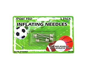 Sports ball inflating needles - Case of 96 by bulk buys