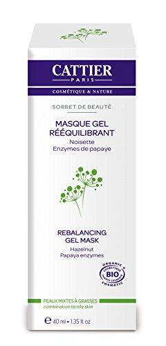 CATTIER Masque Gel Rééquilibrant Sorbet de Beauté 40 ml