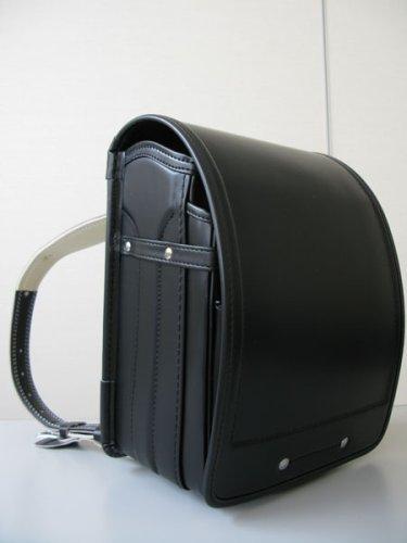 国産かばんメーカーの手作り 艶消し牛革ランドセル(黒)