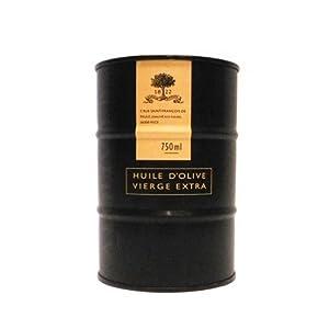 A L'Olivier Extra Virgin Olive Oil in Unique Mini Drum, 25.3 oz