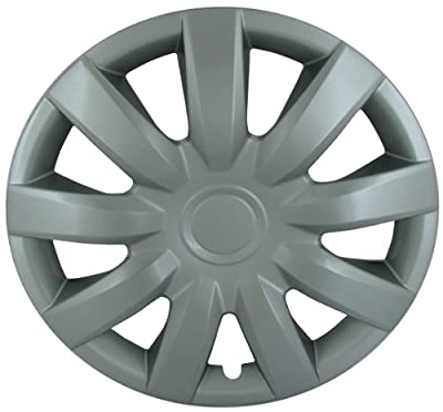 CCI IWC423-15S 15 Inch Clip On Silver Finish Hubcaps - Pack of 4