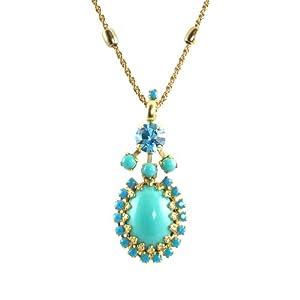 "Amazon.com: Mariana ""Cindy"" Gold Plated Swarovski Crystal"