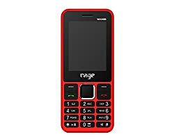 Rage Winner Dual SIM with Camera FM Bluetooth MP3 Player (Red+Black)