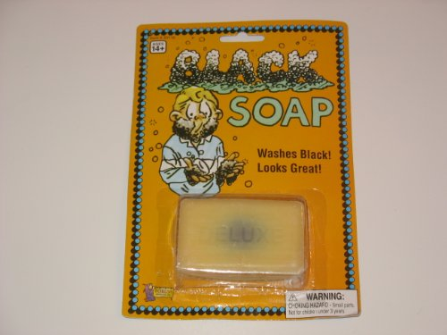 Black Soap Deluxe Novelty Item