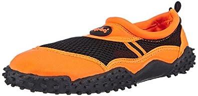 Playshoes  Badeschuhe, Aquaschuhe, Surfschuhe für Damen, Chaussures de sport aquatiques femme - Orange  - Orange (orange 39), 36 EU